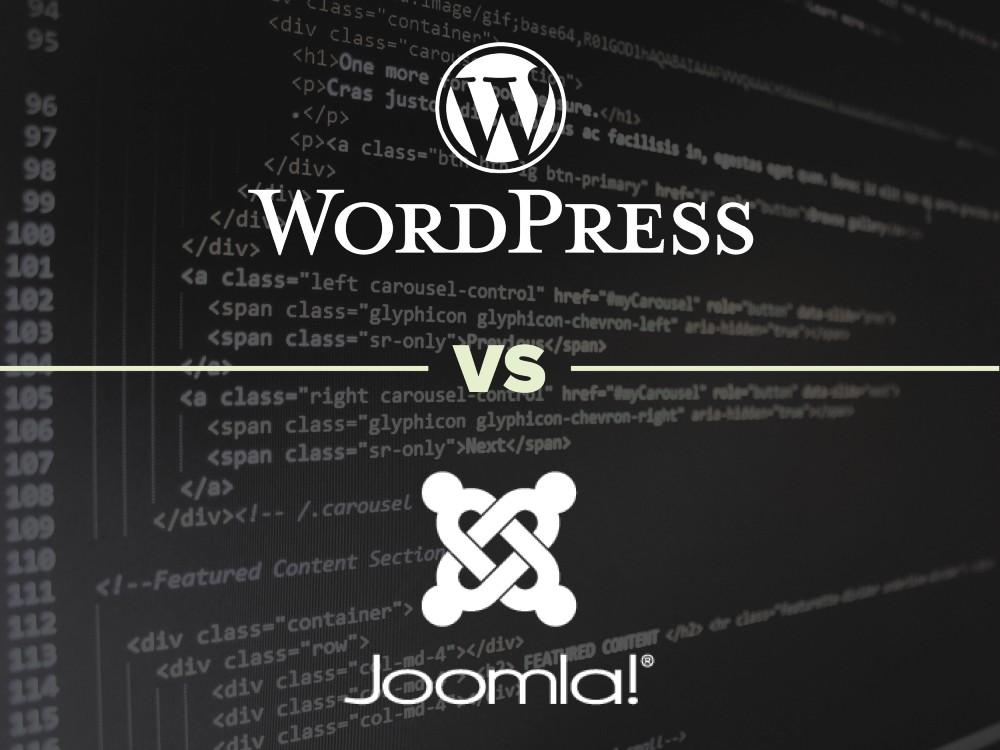 WordPress vs. Joomla